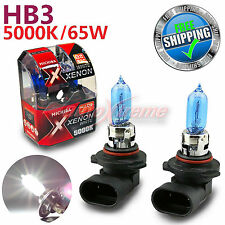 MICHIBA HB3 9005 65W 5000K Xenon SUPER WHITE Halogen Light Bulbs High Beam 2PCS