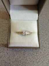 Ernest Jones Princess Engagement Fine Diamond Rings