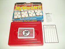 "Rare Vintage Waddingtons ""My Word#?!"" card game. 1988."