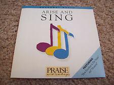 Hosanna Worship - Arise and Sing CD *RARE* 1987