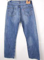Levi's Strauss & Co Hommes 501 Jeans Jambe Droite Taille W36 L32 BCZ245