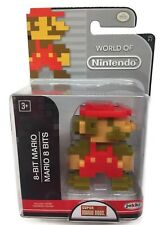 "World of Nintendo Series 2-7 8-BIT MARIO 2.5"" Mini Figure Jakks Pacific Super"