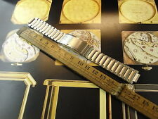 NEW OLD STOCK OMEGA 11-18MM SS SEAMASTER 1206 WATCH BAND