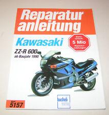 Reparaturanleitung Kawasaki ZZ-R 600 - ab Baujahr 1990!