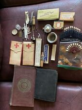 New listing Vtg Dental Tools+ 1930's Dentist Appointment Books/veri Guide/trubyte Lot