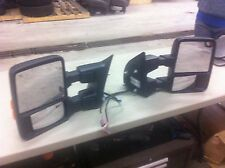 08+ OEM FORD SUPER DUTY F250 F350 F450 POWER EXTENDING FOLDING HEATED MIRRORS