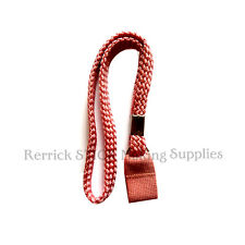 PINK BRAIDED WRIST STRAP FOR WALKING STICKS / CANES