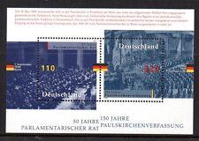 Germany - Bund - 1998 Parliament / Constitution Mi. Block 43 MNH