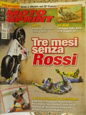 Motosprint 23 2010 Philippaerts cross vince Gp Francia Incidente Valentino Rossi