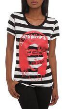Sex Pistols God Save The Queen Stripe Girls T-Shirt