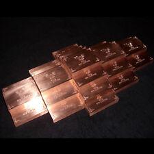 10 Kupferbarren | wunderschön und hochglanzpoliert !