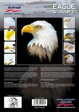 HARDER & STEENBECK AIRBRUSH STENCILS - EAGLE WILDLIFE
