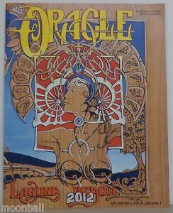RARE! THE ORICLE Magazine 4th Edition VOL 1, 1st Print 2012 JESSE MILLER Cover