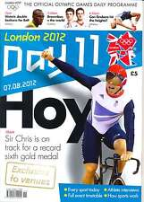 OLYMPIC GAMES DAY 11 ELEVEN DAILY PROGRAMME LONDON 2012