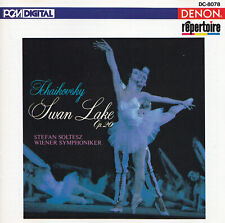 TCHAIKOVSKY - CD - THE SWAN LAKE Op.20 - STEFAN SOLTESZ - WIENER SYMPHONIKER