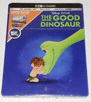 Disney Pixar The Good Dinosaur 4K Ultra HD Blu-Ray Digital Steelbook NEW!