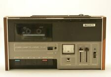 Sony TC-127 Stereo Cassette Player & Recorder ~ Vintage 70's ~ Tested & Working
