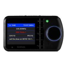 "Goodmans GICDABBT05 in car DAB radio Bluetooth adaptor 2.4"" TFT screen"