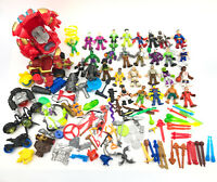 Imaginext Lot Figures Weapons Accessories Vehicles Super Heros Parts Missile