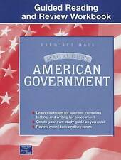 USED (GD) MAGRUDER'S AMERICAN GOVERNMENT GUIDED READING AND REVIEW WORKBOOK