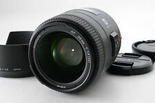 [Near Mint] Minolta AF 35mm f/1.4 G Wide Angle Sony Alpha w/Hood from Japan 418