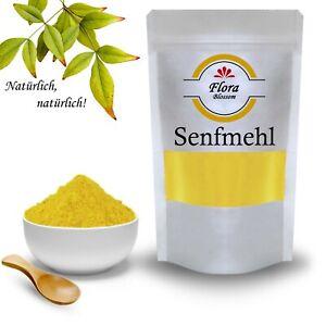 Senfmehl Gelb - Senfpulver Fein Gemahlen - Natürlich Ohne Zusätze - Gourmet Line