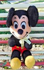 VINTAGE 1960's / 70's CALIFORNIA STUFFED TOYS PLUSH MICKEY MOUSE DOLL 20 INCHES