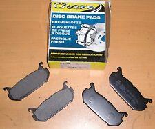 MAZDA 626 / MX-6 / XEDOS & FORD PROBE CHASE REAR BRAKE PADS - P828R