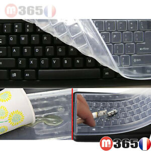 Protection clavier ordinateur pc silicone protège clavier pc universel