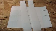 25  WHITE- BLANK SELF-SEALING CURRENCY STRAPS/BANDS