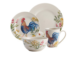 Rooster Dishes Set Everyday Dishes Farmhouse Dinnerware Sets Country Dish Set
