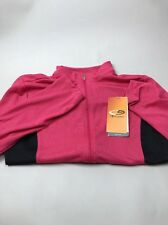 NWT Girls Duo Dry sport jacket. Size L. Pink Black
