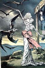 Clerical Vultures 1880 SARAH BERNHARDT PROTECTING SON PREJUDICE MODERN RIZPAH