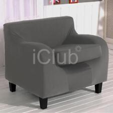Housses de canapé, fauteuil, et salon gris pour la maison Canapé 2 places