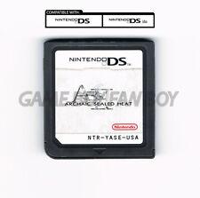 ASH: Archaic Sealed Heat ENGLISH Translation Nintendo DS Custom Cartridge