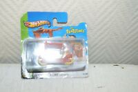 VOITURE VEHICULE THE FLINTSTONES FLINTMOBILE HOT WHEELS NEUF CAR FIGURINE