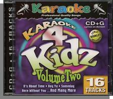 Karaoke CD+G - Karaoke 4 Kidz Vol 2 - New 16 Song CD! Bring Me To Life, Someday