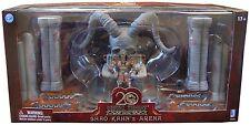 Mortal Kombat Action Figure Box Set Shao Kahn Throne & Arena 20th Anniversary