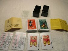 Vintage Kem Plastic Playing Cards GameCock Playing Cards