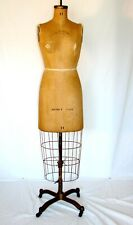 The Better Model Form Ny 1943 Vintage Mannequin Dress Form Cage Skirt