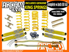 """TOYOTA LANDCRUISER 80 100 SERIES 4"""" INCH LIFT KIT COIL SPRINGS & ARCHM4X4"""