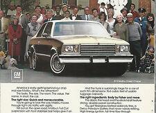 1979 CHEVROLET MALIBU advertisement, CHEVY Malibu ad, Classic Coupe