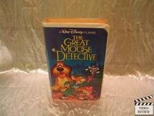 Great Mouse Detective VHS Walt Disney Classic Edition