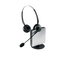 Jabra GN9120 Duo Wireless Headset, Noise-canceling, Multi-unit conferencing