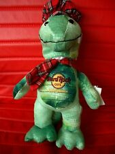 HRC Hard Rock Cafe Edinburgh Nessie Bear Beara Signature  Made By Herrington LE