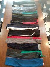 11 Boys lot Under Armour Athletic Works Tek Gear Athletic Pants pairs size 10/12