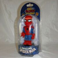 NECA ~ Body Knockers ~ The Amazing Spider-Man ~ Solar Powered Figure ~ Marvel