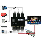 5 Port 1080P Video HDMI Switch Switcher Splitter pour HDTV DVD PS3 + IR 9-HK