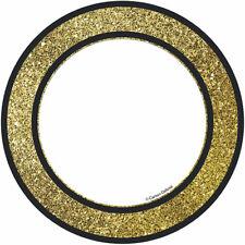 Gold Glitter Dots Cut Outs Sparkle And Shine Carson Dellosa Cd-120244