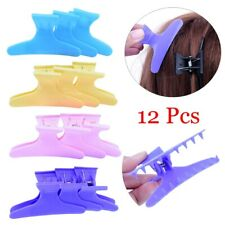 Butterfly Hairdressing Section Clamps Hair Clips Plastic Claw Salon Styling